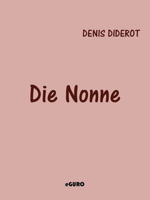 cover image of Die Nonne