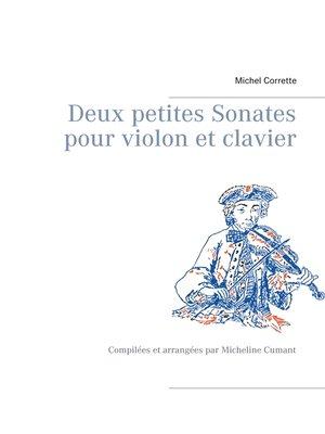 cover image of Deux petites Sonates pour violon et clavier