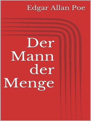 cover image of Der Mann der Menge