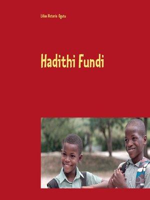 cover image of Hadithi Fundi