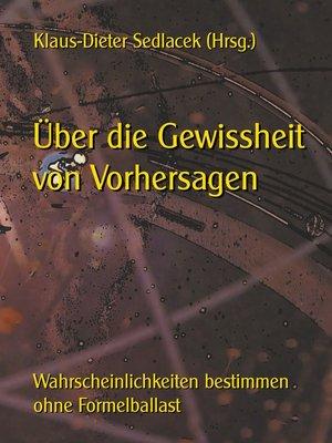 cover image of Über die Gewissheit von Vorhersagen