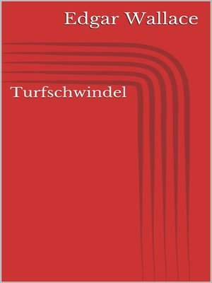 cover image of Turfschwindel