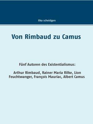 cover image of Von Rimbaud zu Camus