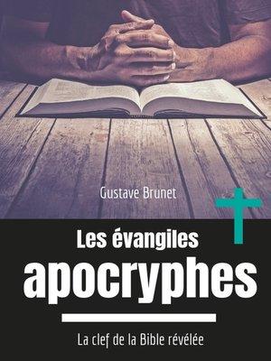 cover image of Les évangiles apocryphes