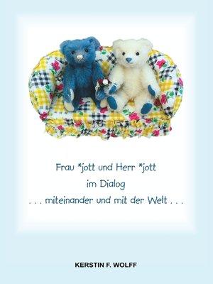 cover image of Frau *jott und Herr *jott im Dialog