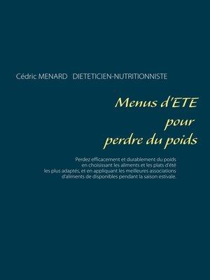 cover image of Menus d'été pour perdre du poids