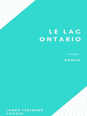 cover image of Le Lac Ontario