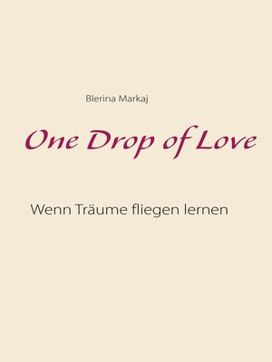 cover image of One Drop of Love
