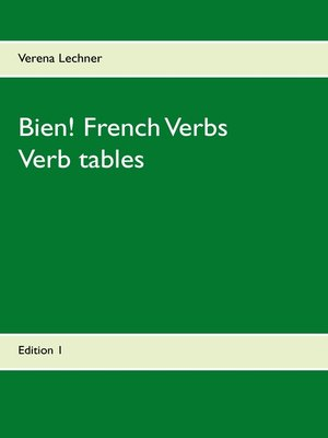 cover image of Bien! French Verbs