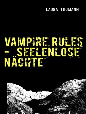 cover image of Vampire Rules--Seelenlose Nächte