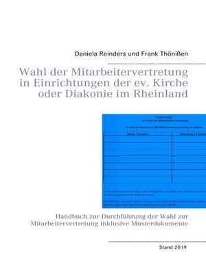 cover image of Wahl der Mitarbeitervertretung in Einrichtungen der ev. Kirche oder Diakonie im Rheinland