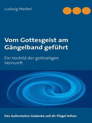 cover image of Vom Gottesgeist am Gängelband geführt