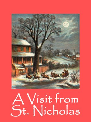 cover image of A Visit from St. Nicholas