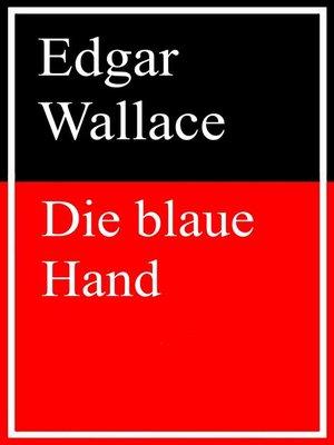 cover image of Die blaue Hand