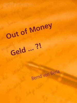 cover image of Out of Money