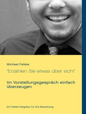 """cover image of """"Erzählen Sie etwas über sich!"""""""