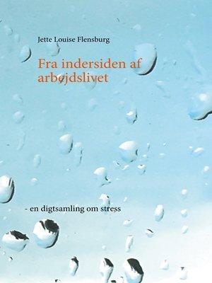 cover image of Fra indersiden af arbejdslivet