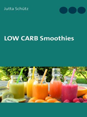 cover image of Low Carb Smoothies