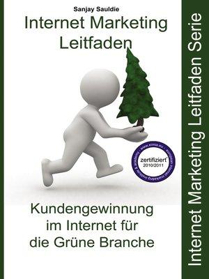cover image of Internet Marketing Grüne Branche