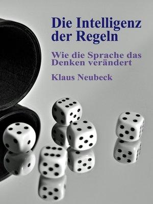 cover image of Die Intelligenz der Regeln