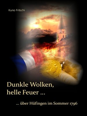 cover image of Dunkle Wolken, helle Feuer ...