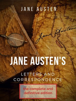 cover image of Jane Austen's correspondence and letters