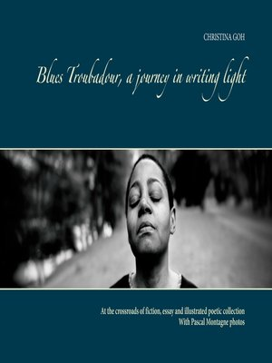 cover image of Blues Troubadour, A Journey in Writing Light