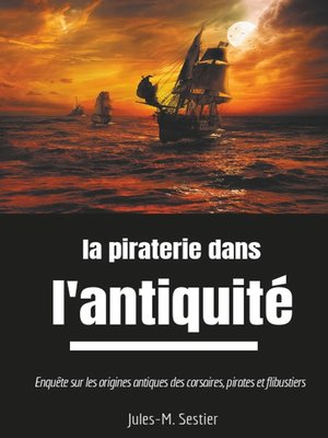 cover image of La piraterie dans l'Antiquité