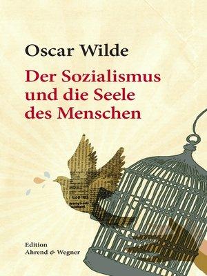 cover image of Der Sozialismus und die Seele des Menschen