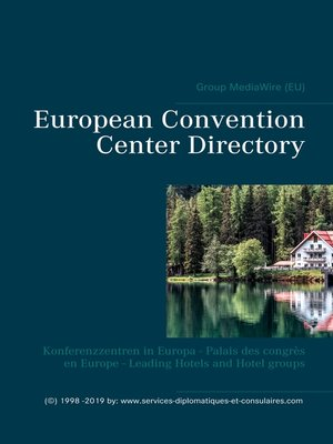 cover image of European Convention Center Directory