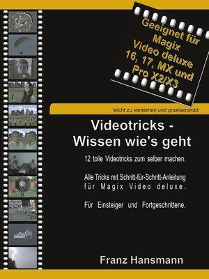 cover image of Videotricks--Wissen wie's geht