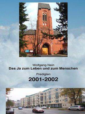 cover image of Das Ja zum Leben und zum Menschen, Band 5
