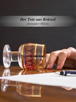 cover image of Der Tote aus Brüssel