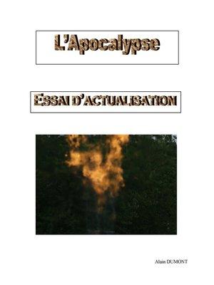 cover image of L'Apocalypse