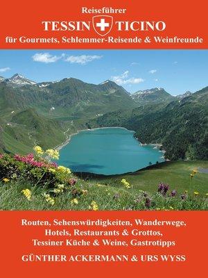 cover image of Reiseführer Tessin--Ticino