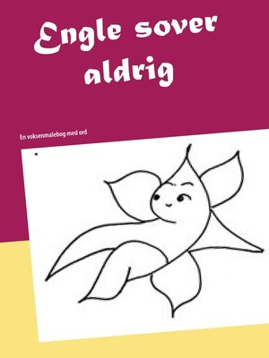 cover image of Engle sover aldrig
