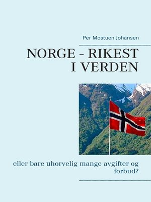 cover image of Norge – rikest i verden