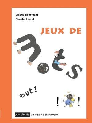 cover image of Jeux de mots