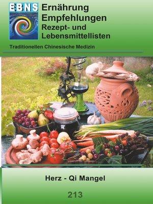 cover image of Ernährung--TCM--Herz--Qi Mangel