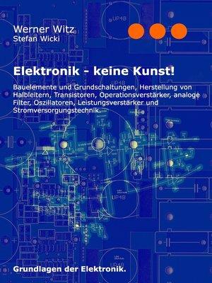 cover image of Elektronik--keine Kunst!
