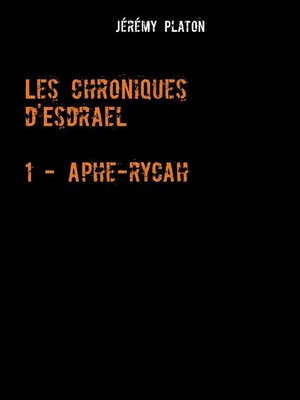 cover image of Les Chroniques d'Esdrael