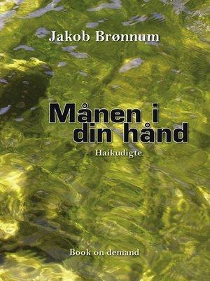 cover image of Månen i din hånd