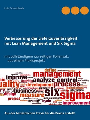 cover image of Verbessern der Lieferzuverlässigkeit als Lean Management und Six Sigma Projekt