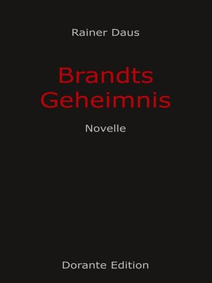 cover image of Brandts Geheimnis