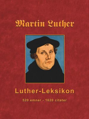 cover image of Martin Luther--Luther-Leksikon