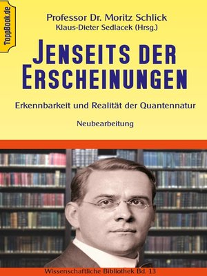 cover image of Jenseits der Erscheinungen