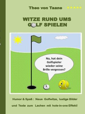 cover image of Witze rund ums Golf spielen