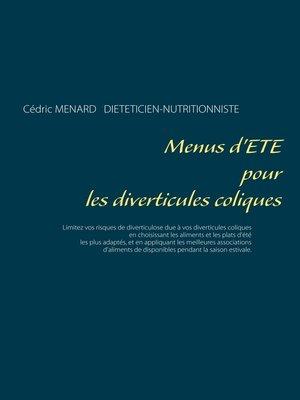 cover image of Menus d'été pour les diverticules coliques