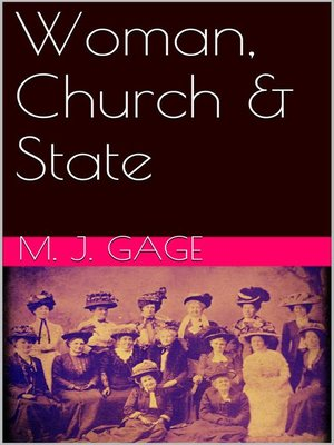cover image of Woman, Church & State