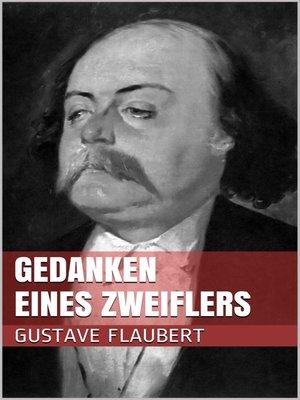 cover image of Gedanken eines Zweiflers